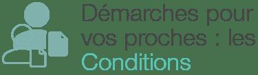 conditions demarches extrait naissance proche