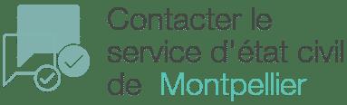 contacter service etat civil montpellier
