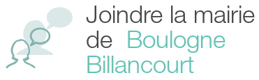 coordonnees mairie boulogne billancourt