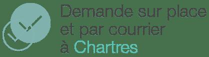 demande acte naissance chartres sur place courrier